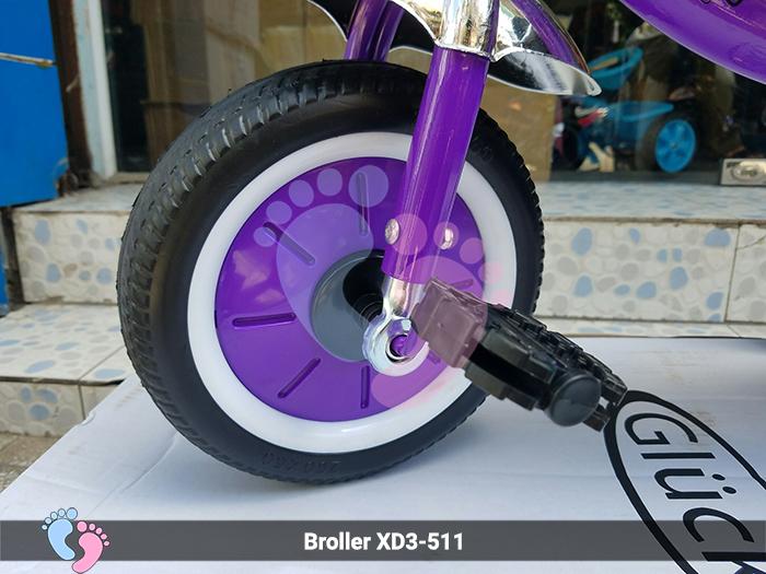 Xe đạp ba bánh Broller 04