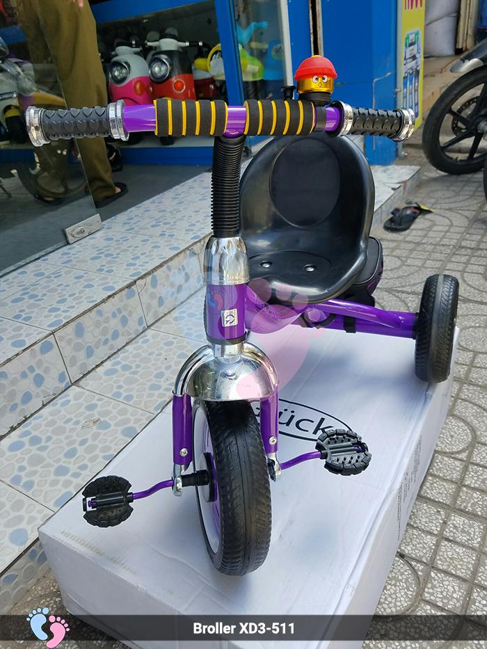 Xe đạp ba bánh cho bé 511