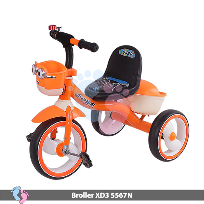 Xe đạp ba bánh Broller XD3-5567N