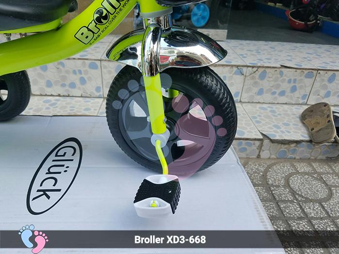 xe đạp ba bánh Broller dòng 688 của trẻ em