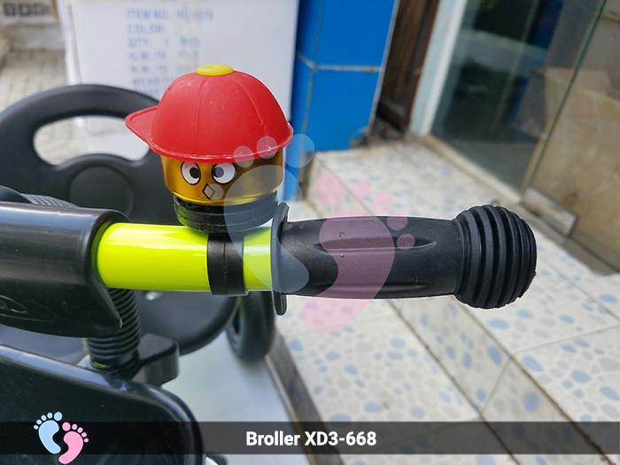 xe đạp trẻ em 3 bánh 668