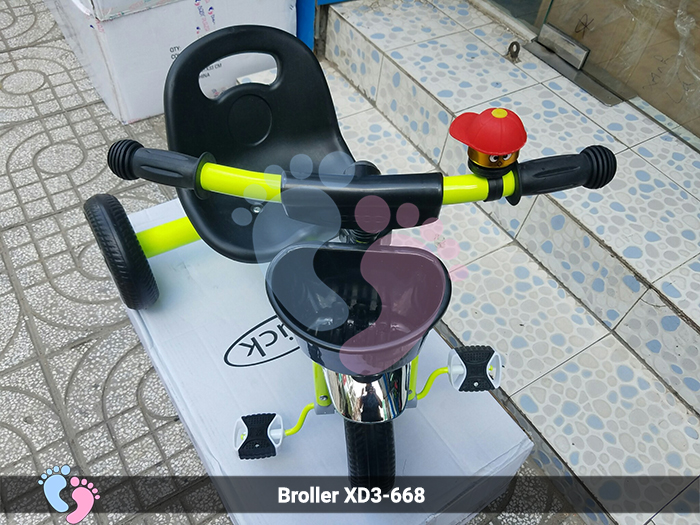 xe đạp 3 bánh cho bé 668