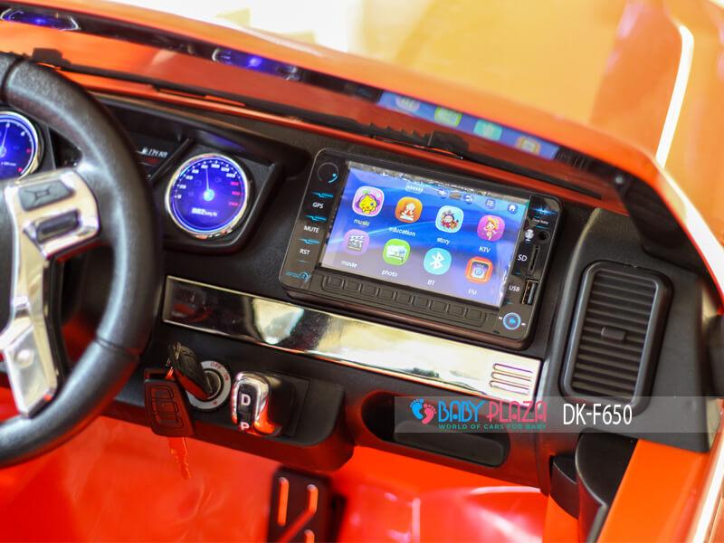 màn hình ô tô điện cho bé của Ford Ranger DK-F650
