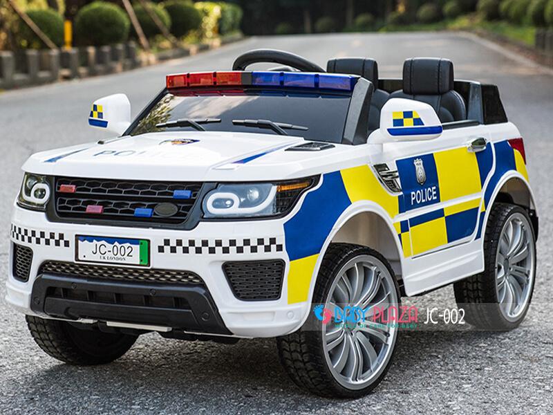 ô tô điện cảnh sát cho bé