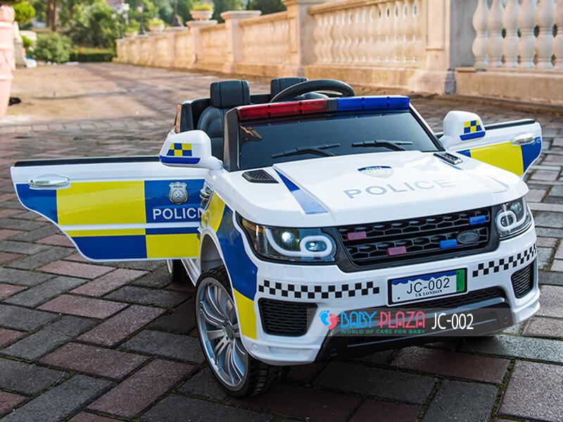 ô tô điện cảnh sát cho trẻ em JC002