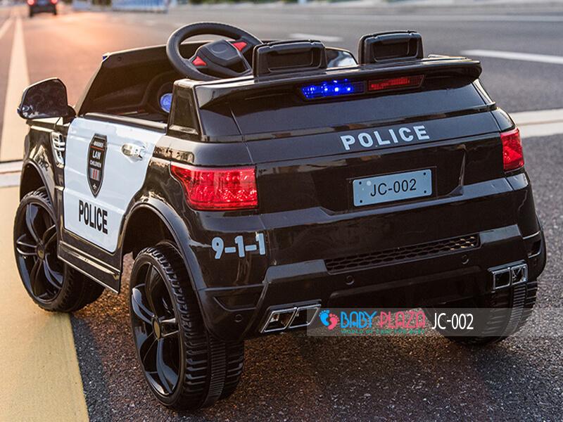 xe hơi cảnh sát điện cho trẻ em J002