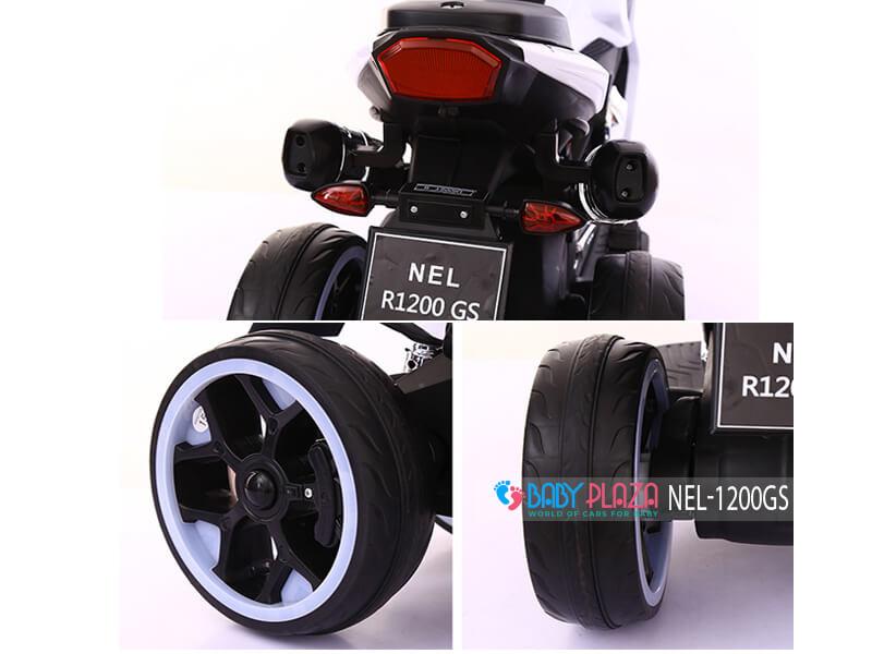 xe máy điện thể thao 3 bánh cho bé nel-1200gs
