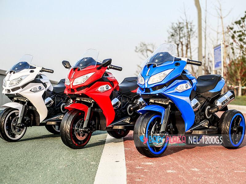 xe mô tô điện trẻ con NEL-1200GS