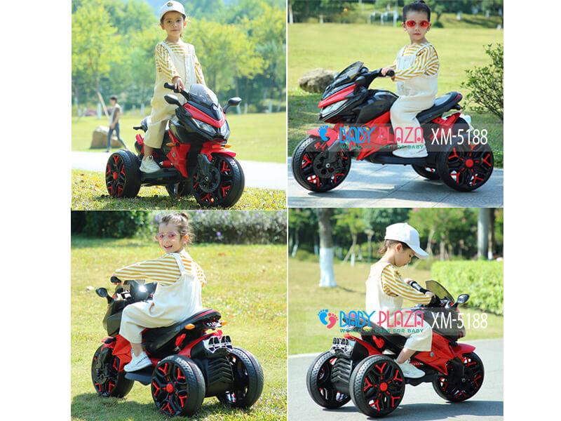 xe mô tô ba bánh cho bé XM-5188