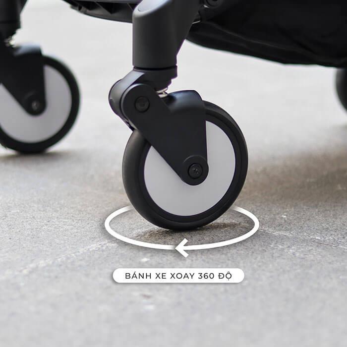 xe đẩy cho trẻ em gấp gọn Topbo a09