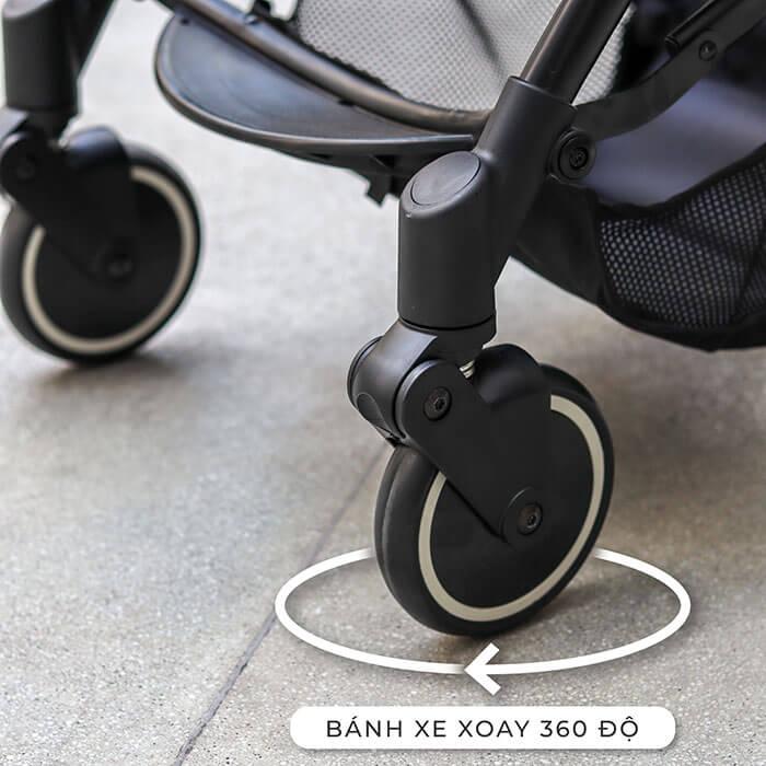 xe đẩy cho trẻ em Topbi a8
