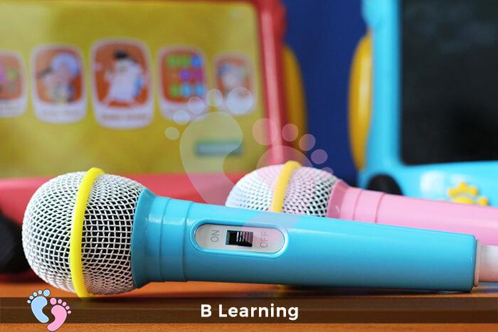 máy phát nhạc đa năng cho bé từ 1 đến 5 tuổi B Learning