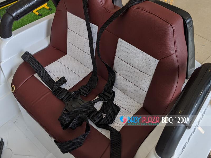 ghế da ô tô điện trẻ em địa hình BDQ-1200a