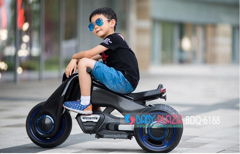 xe máy điện trẻ em 3 bánh cho bé BDQ-6188