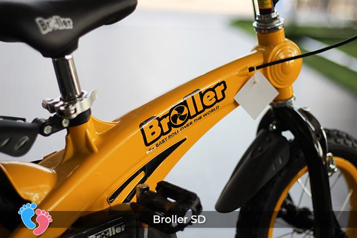 xe đạp cho bé thương hiệu Broller  SD