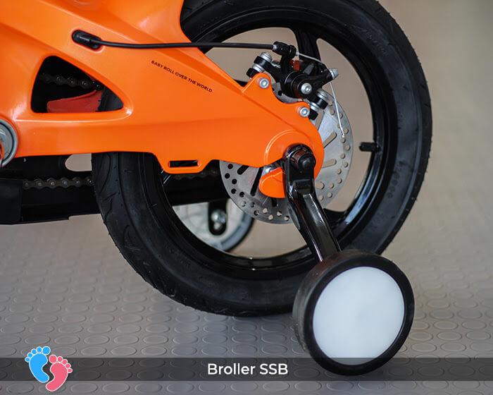 xe 2 bánh có bàn đạp cho bé Broller SSB