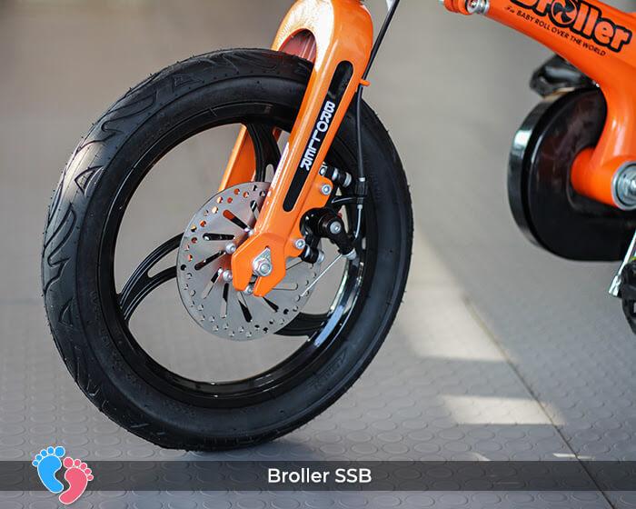 khung xe đạp trẻ em broller ssb