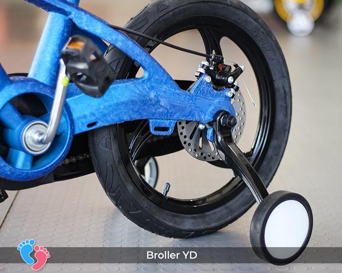 phanh xe đạp 2 bánh cho bé broller YD