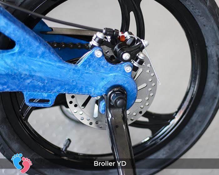 bộ chuyển động của xe đạp trẻ em Broller