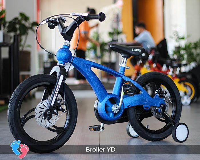 xe đạp 2 bánh cho bé broller YD