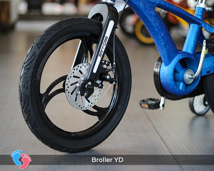 xe đạp thương hiệu việt broller
