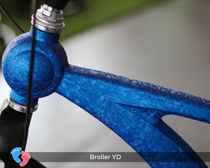 bánh xe đạp broller yd cao cấp
