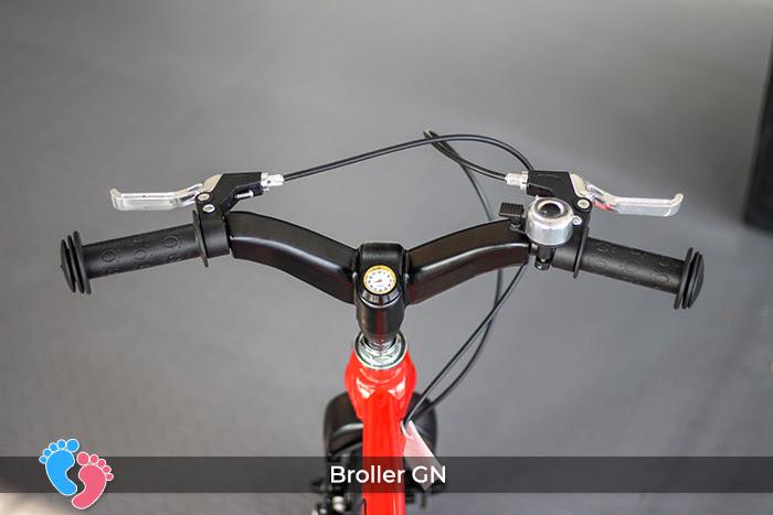 tay lái xe đạp cho bé broller gn
