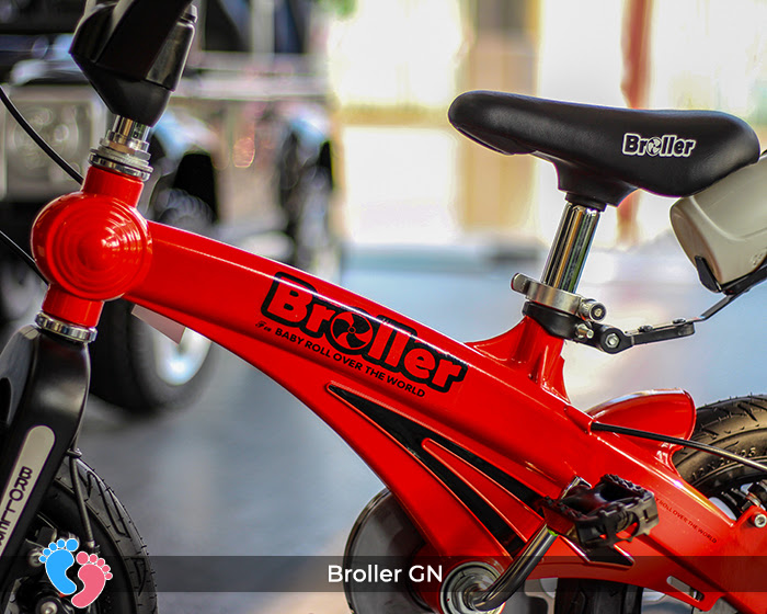 xe đạp cho bé thương hiệu việt