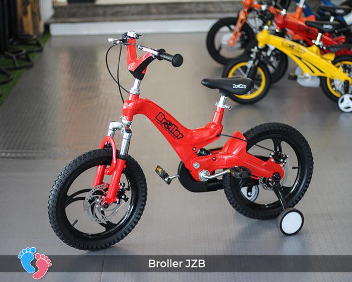 dòng xe đạp 2 bánh trẻ em cao cấp broller