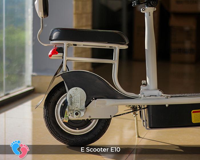 yên phụ xe điện mini e-scootrer e10