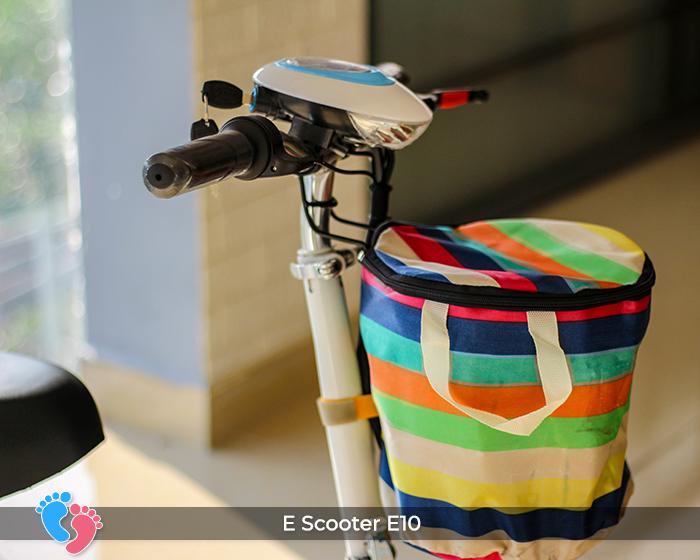 Xe scooter mini chạy điện E10