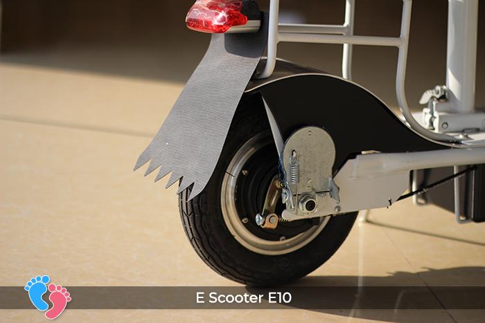 E-scooter e10 bánh 10 inch