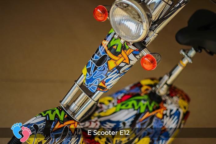 xe e-scooter e12 điện mini