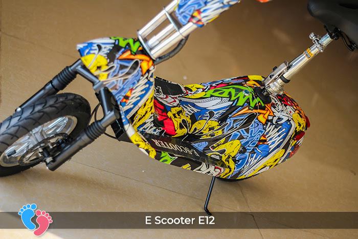 dòng xe điện mini e-scooter