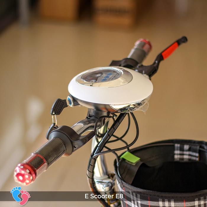 E-scooter mini điện e8 cho người lớn