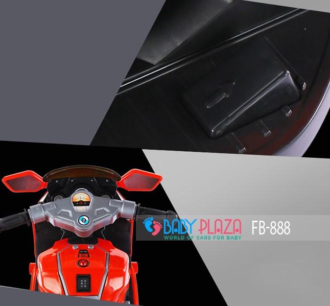 xe máy điện cho bé 888