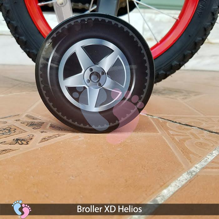 bánh phụ xe đạp helios broller