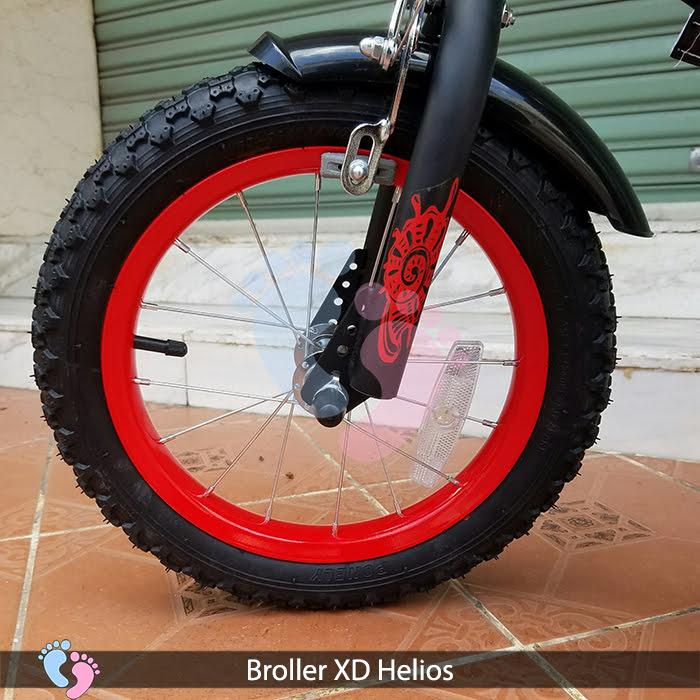 lốp xe đạp cho bé broller