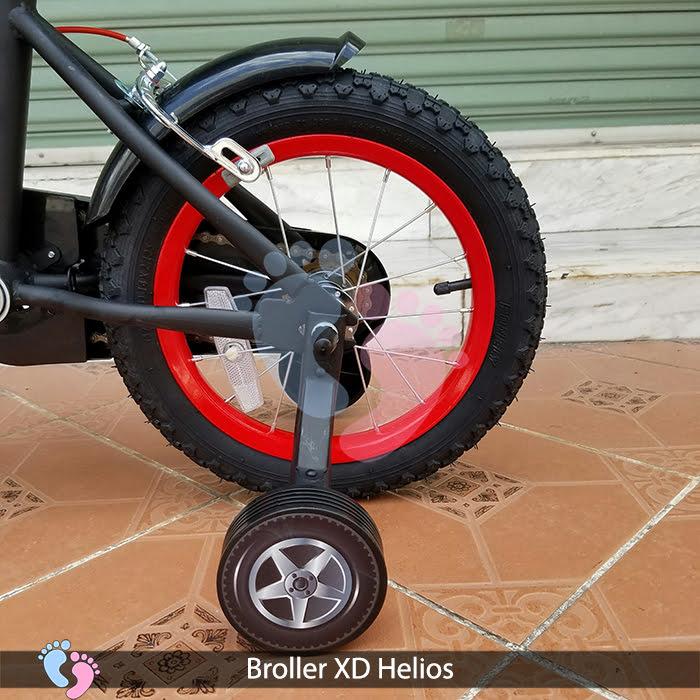 bánh sau xe đạp broller