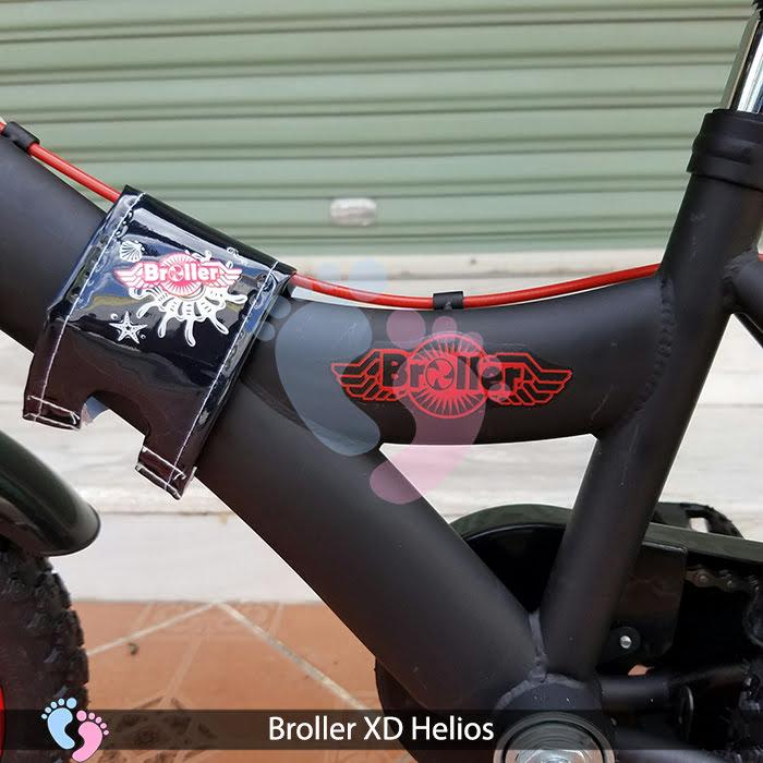 khung xe đạp broller cho bé