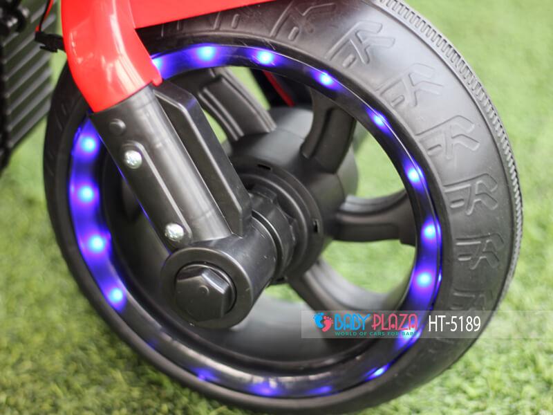 đèn bánh xe điện 3 bánh Ht-5189