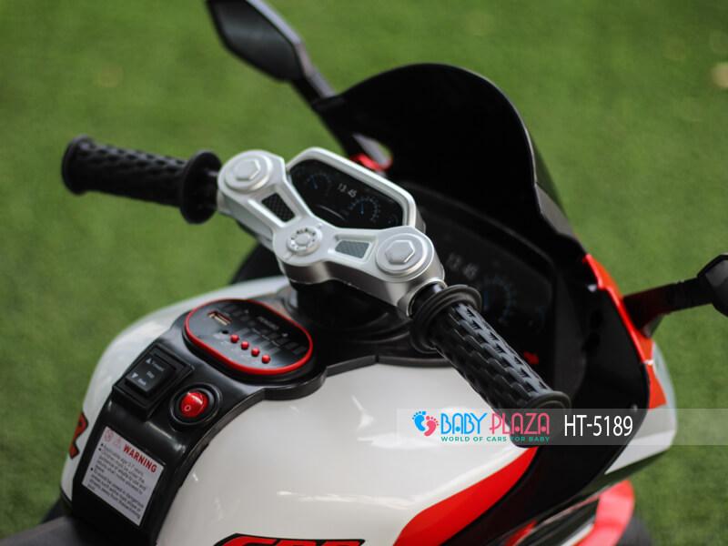 xe máy điện trẻ em tay ga ht-5189