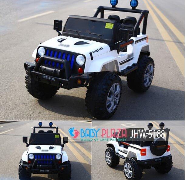 ô tô điện địa hình cho bé jhw 5188