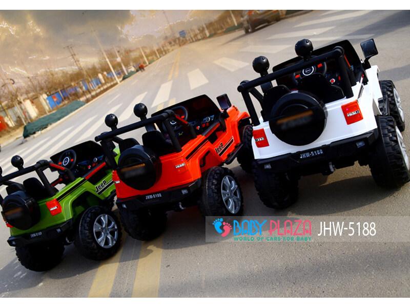 xe hơi điện địa hình cho bé jhw 5188