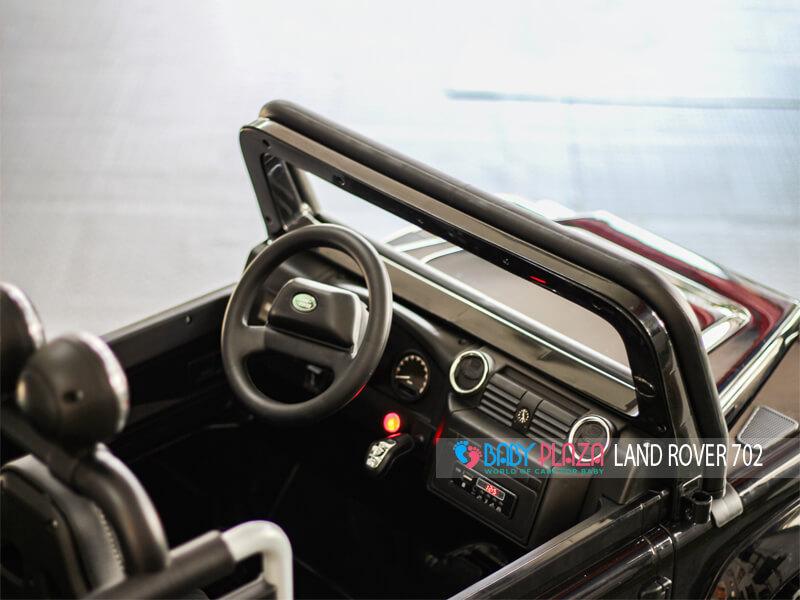 vô lăng ô tô điện trẻ em Land Rover