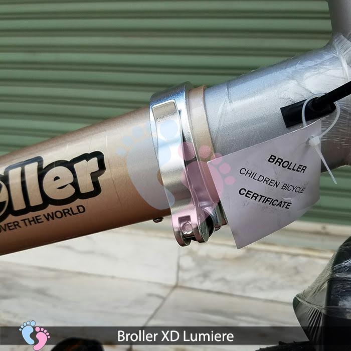 khung xe đạp thương hiệu broller