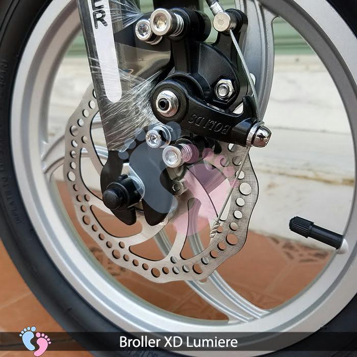 bánh xe đạp trẻ em loai niền đúc