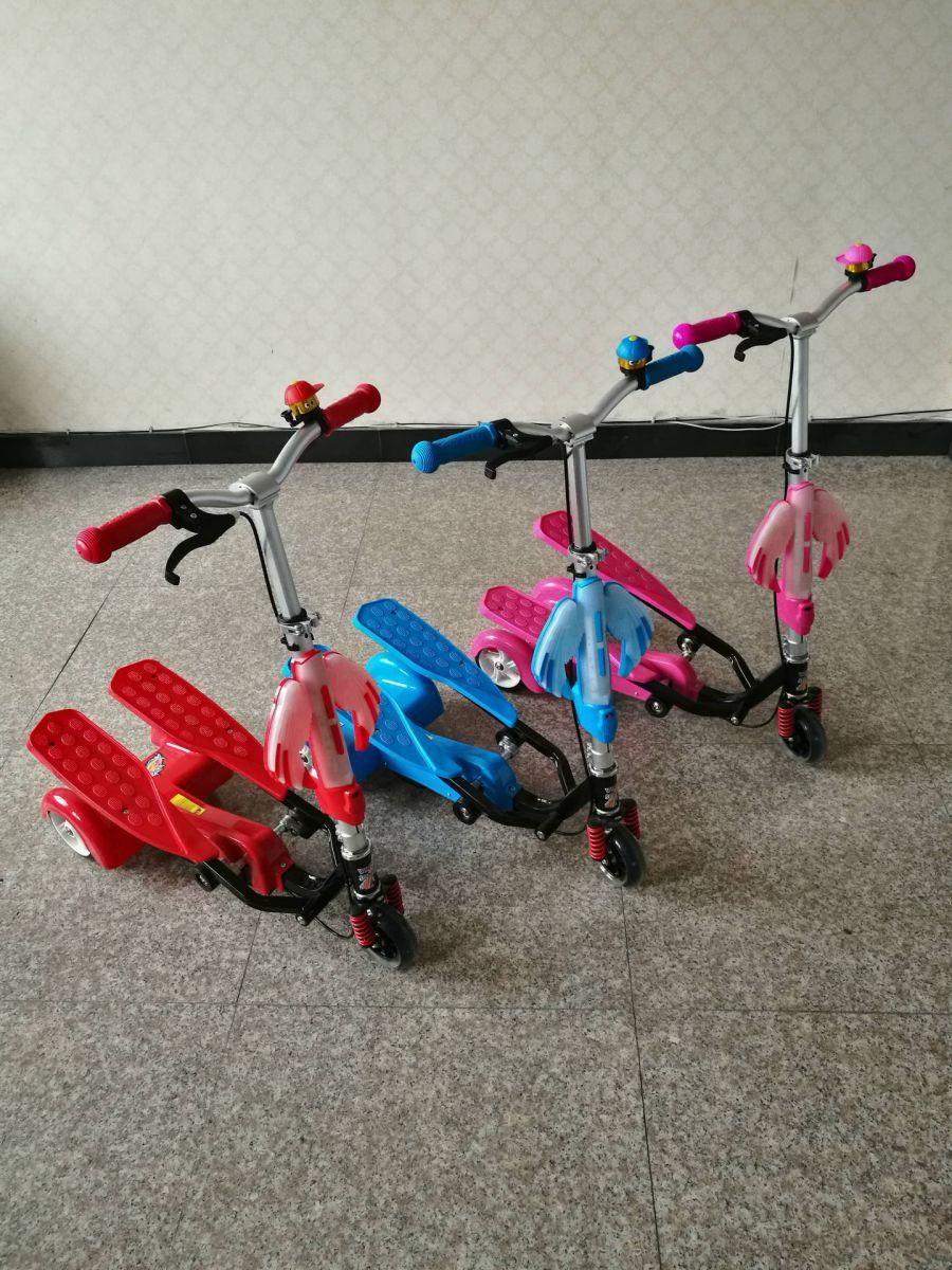 Xe trượt Scooter có bàn đạp chân LZ-012