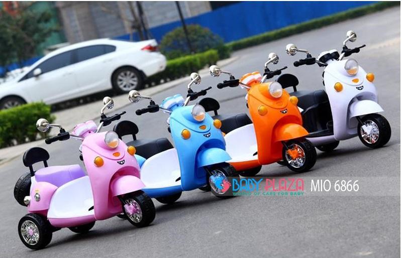 xe máy chạy bằng điện cho bé mio 6866
