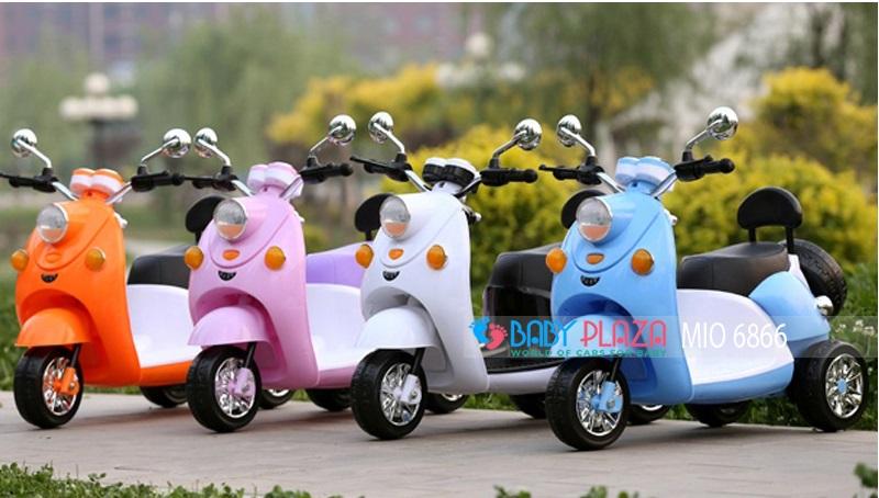 xe máy điện cho bé gái mio-6866